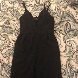 Medium Forever 21 black jumpsuit